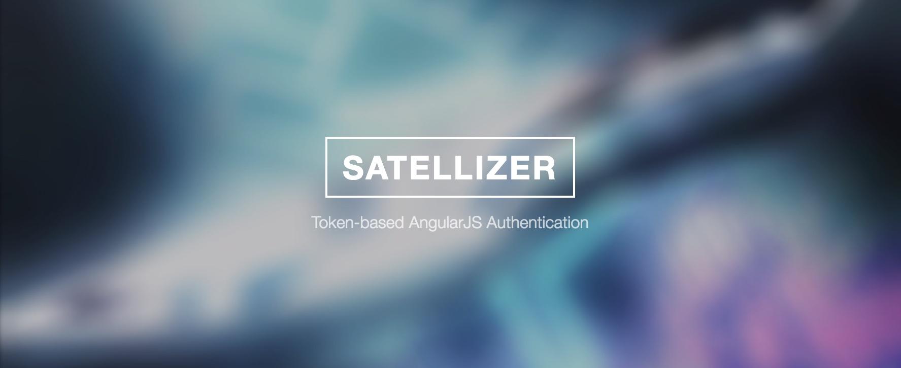 GitHub - sahat/satellizer: Token-based AngularJS Authentication