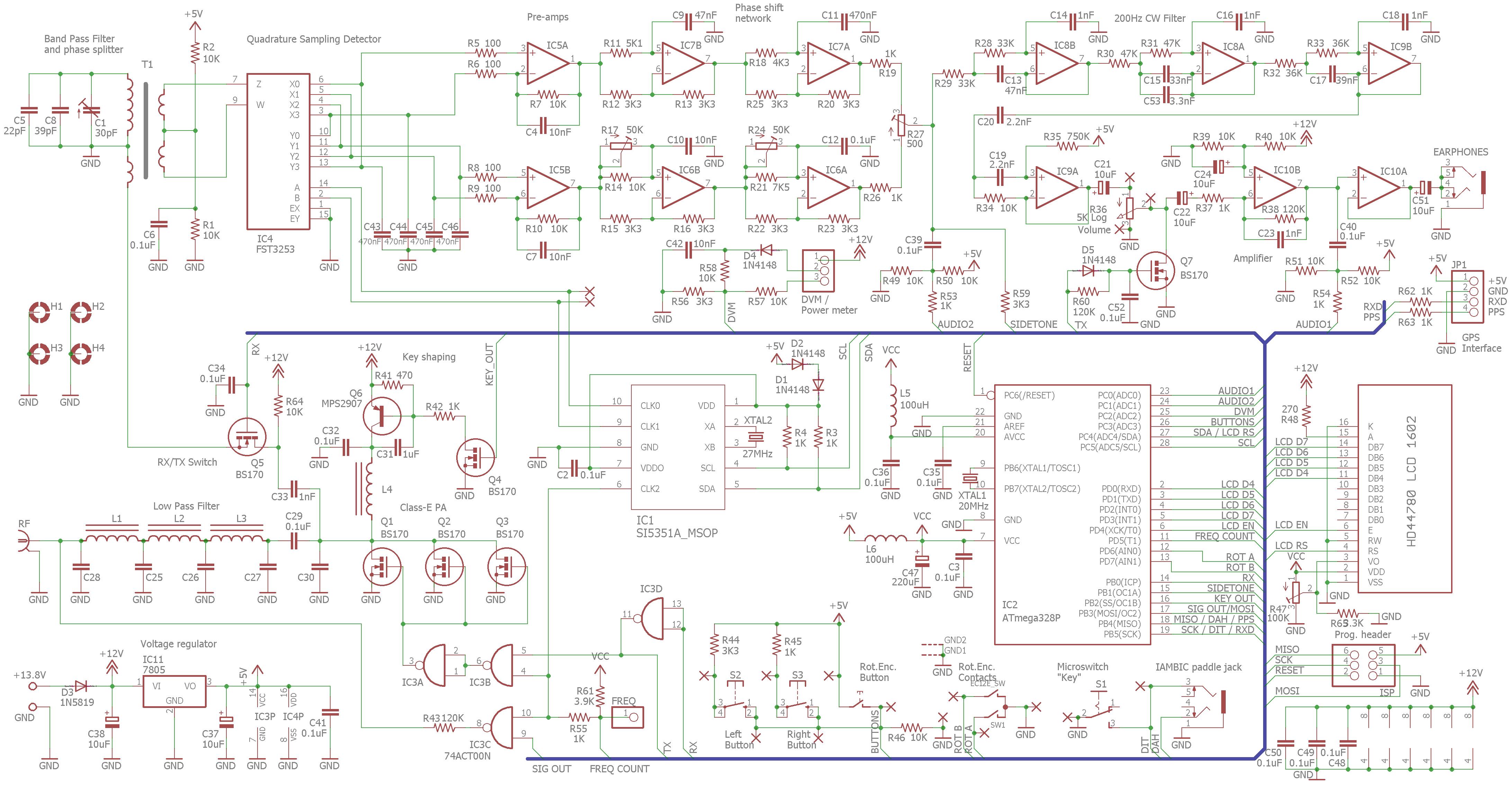 QCX Schematic