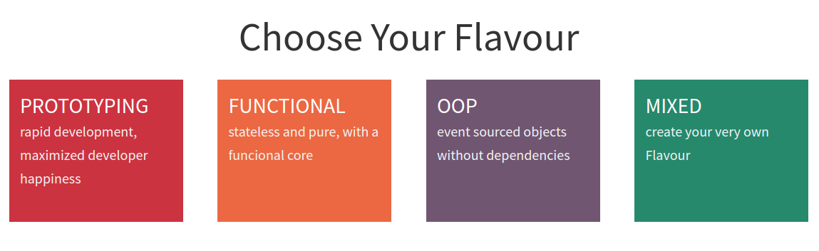 Choose Your Flavour