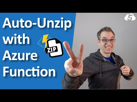 Unzip Automatically Files with Azure Function v2