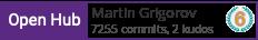 OpenHub profile for Martin Grigorov