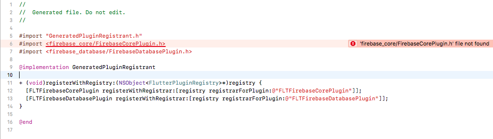 Xcode build failure after adding FlutterFire to project