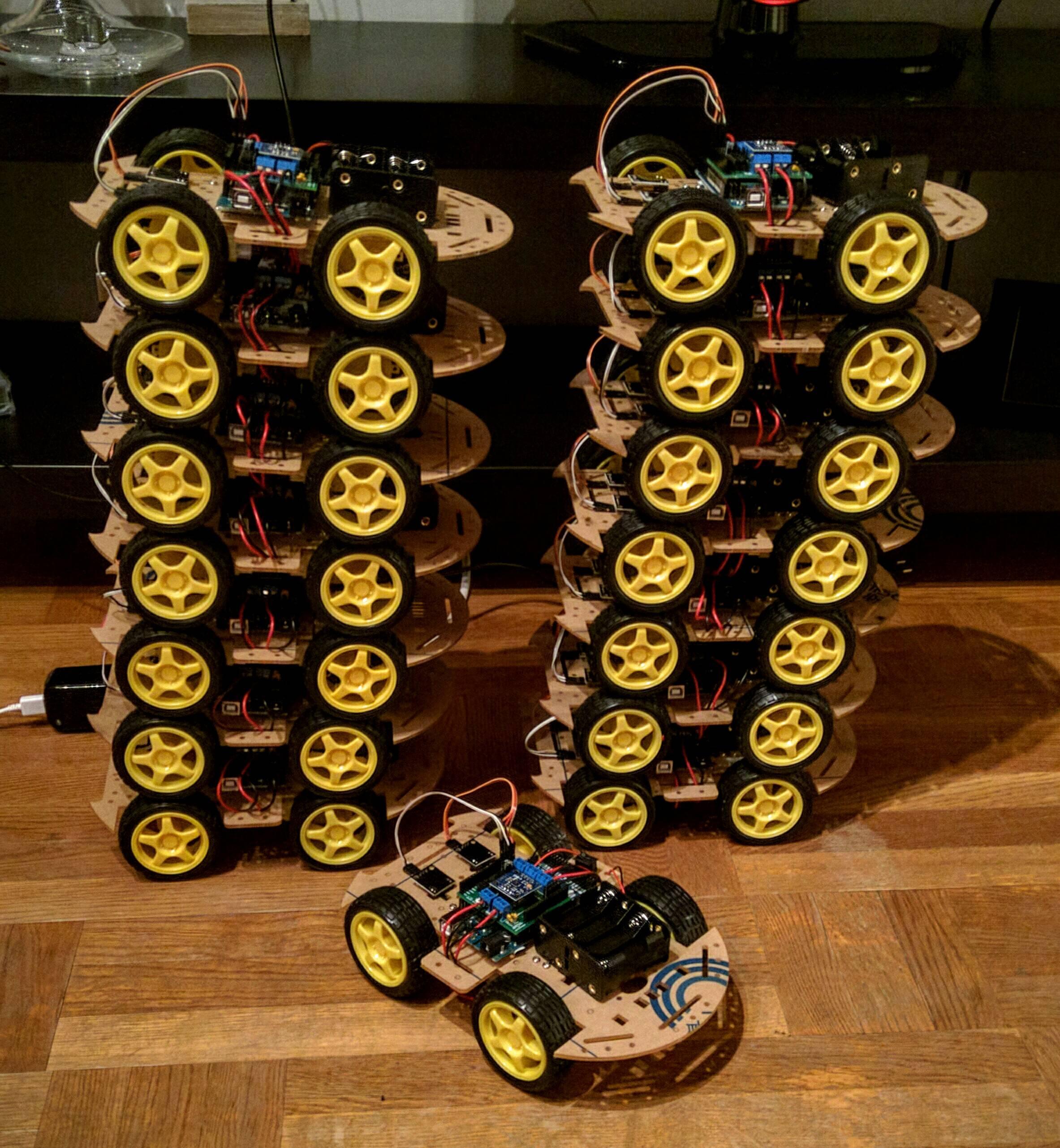Smartcar stack