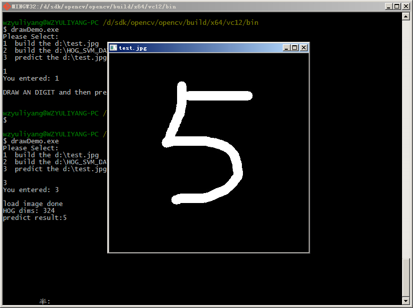 GitHub - wzyuliyang/hand-write-digit-recognition-with-opencv
