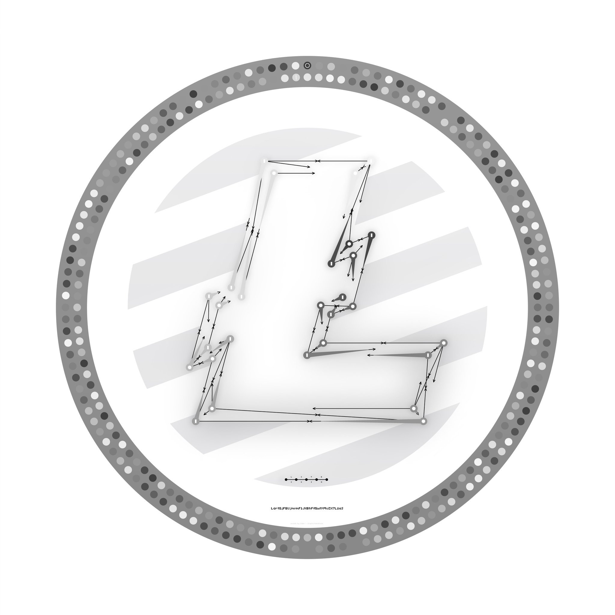 An image of the Litecoin Segwit puzzle.