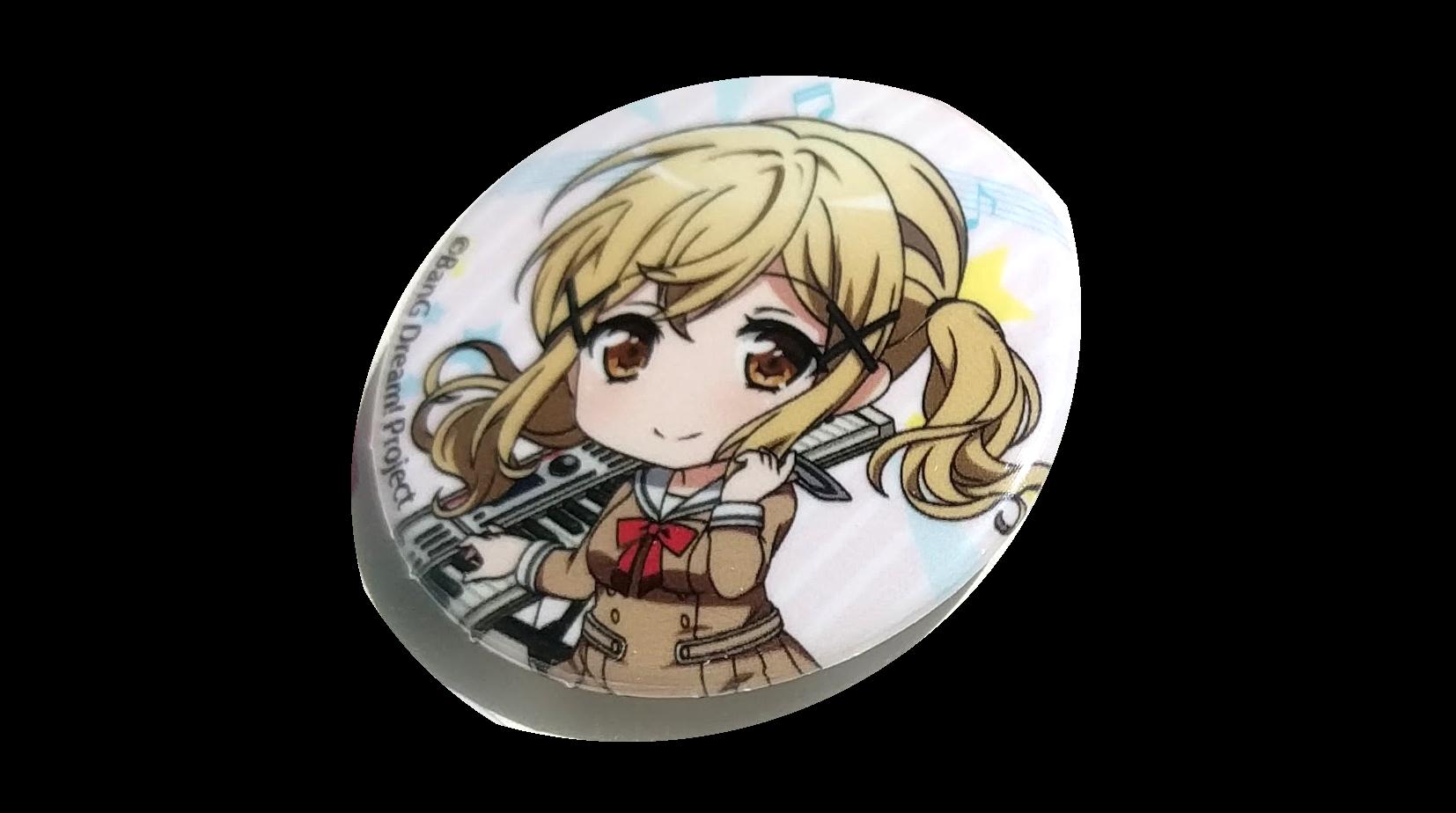 Arisa Ichigaya badge giveaway