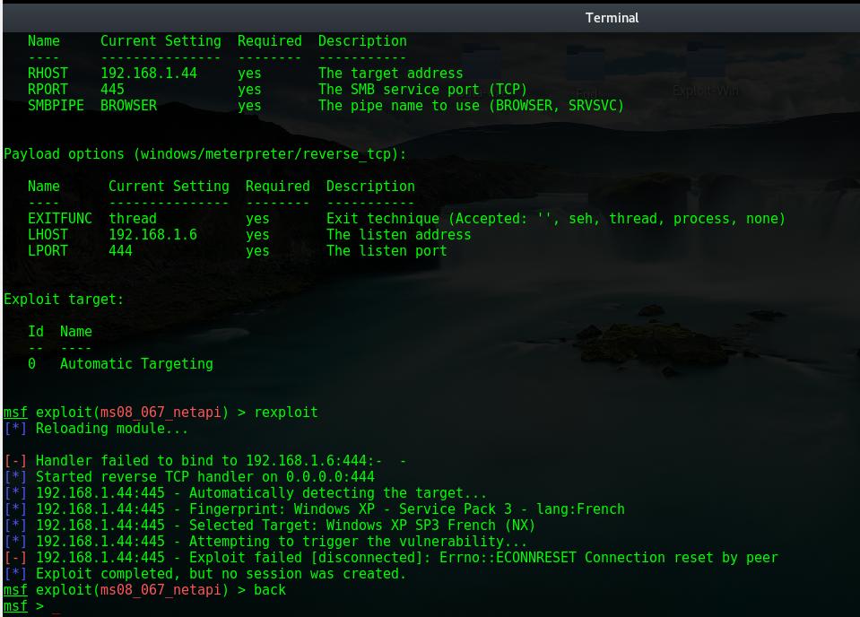 MSF exploit RCE error · Issue #8478 · rapid7/metasploit-framework