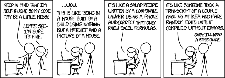 xkcd code quality
