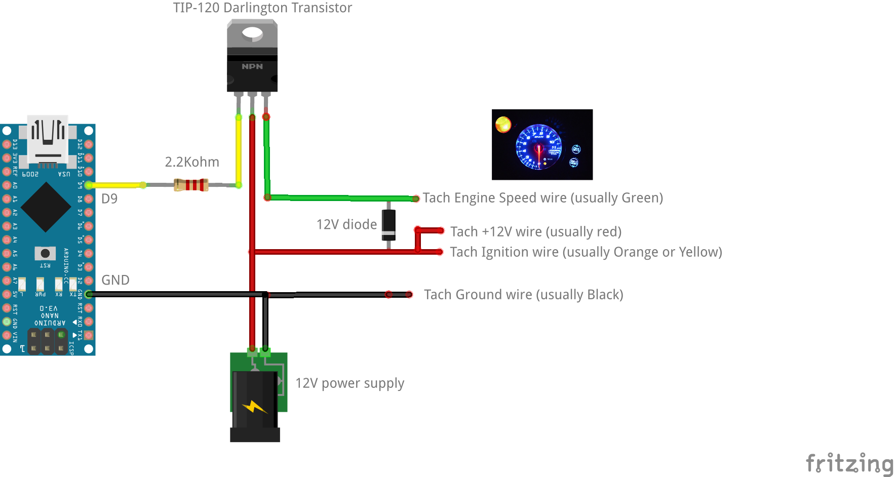 Relay Module Wiring Arduino Nice Place To Get Diagram 8 After Market Tach Support U00b7 Zegreatclan Simhub 4 Connections