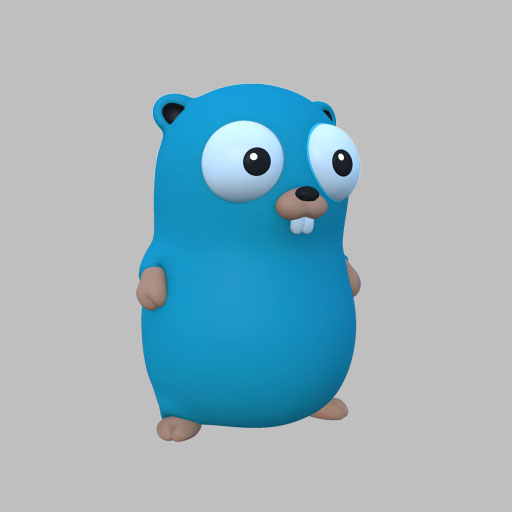 Go Gopher Render 2