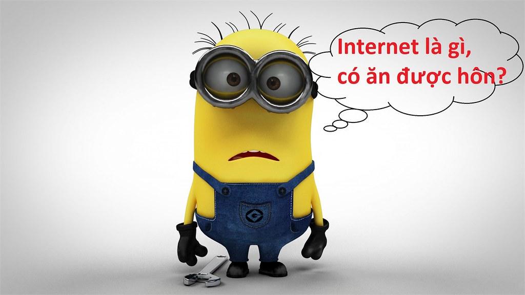 Phát minh ra internet là bước đột phá của con người