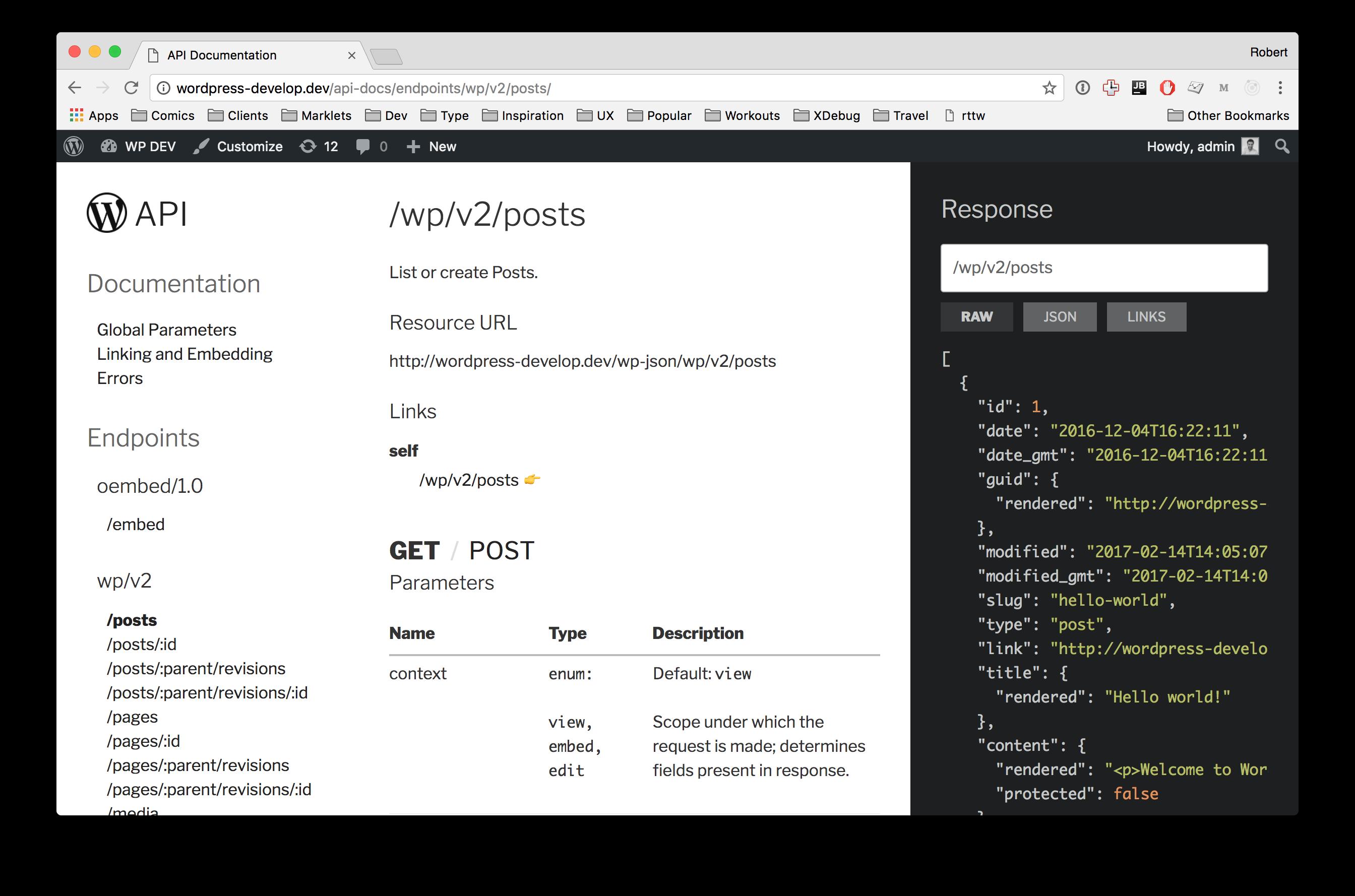 GitHub - humanmade/Restsplain: WordPress REST API