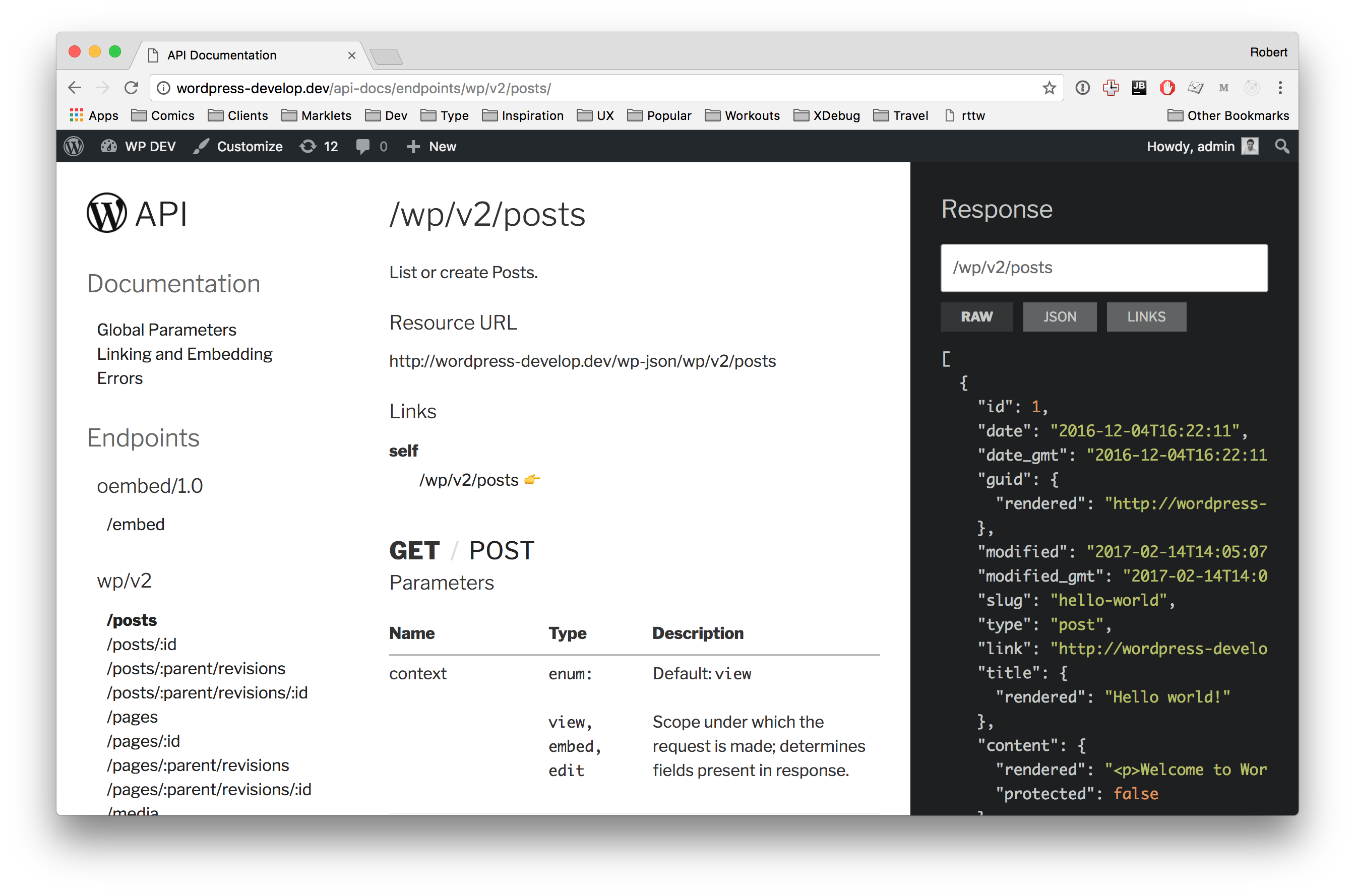 GitHub - humanmade/Restsplain: WordPress REST API documentation