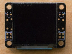 OLED128 PCB Front