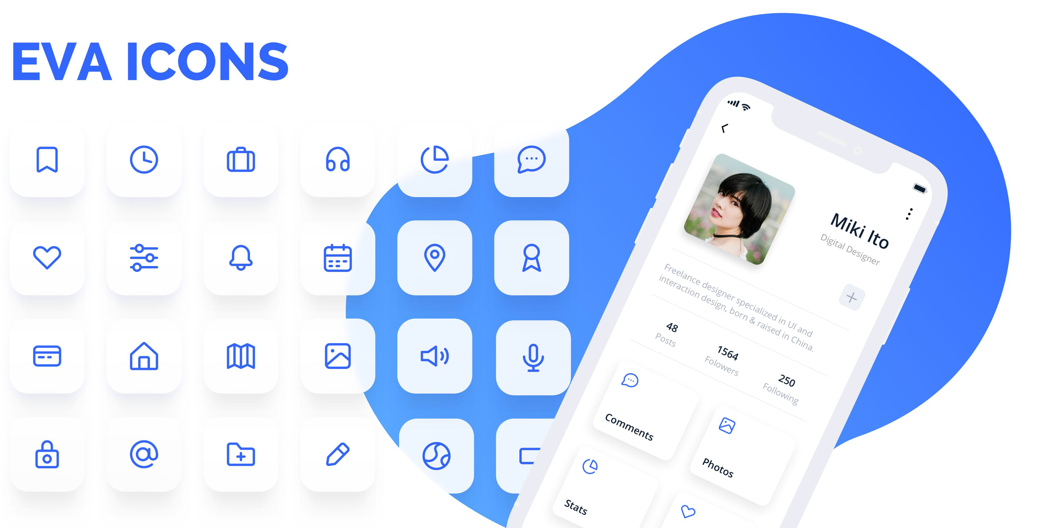 GitHub - akveo/eva-icons: A pack of more than 480