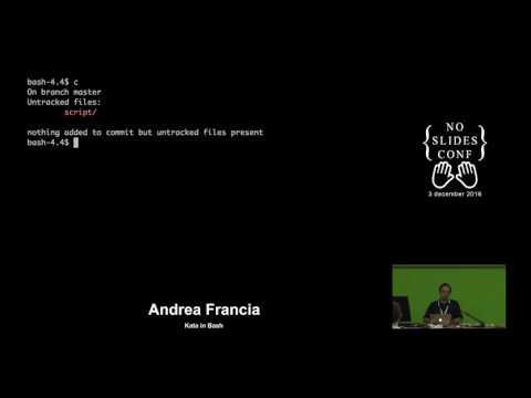 Video No SlidesConf