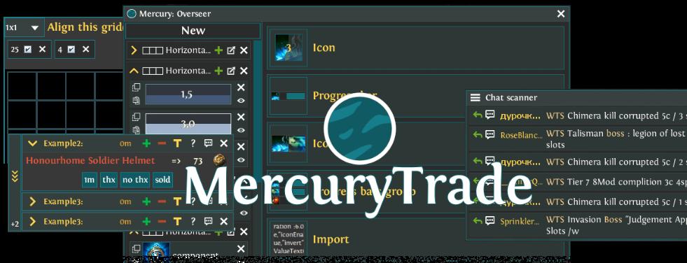 GitHub - Exslims/MercuryTrade: An overlay application for Path of