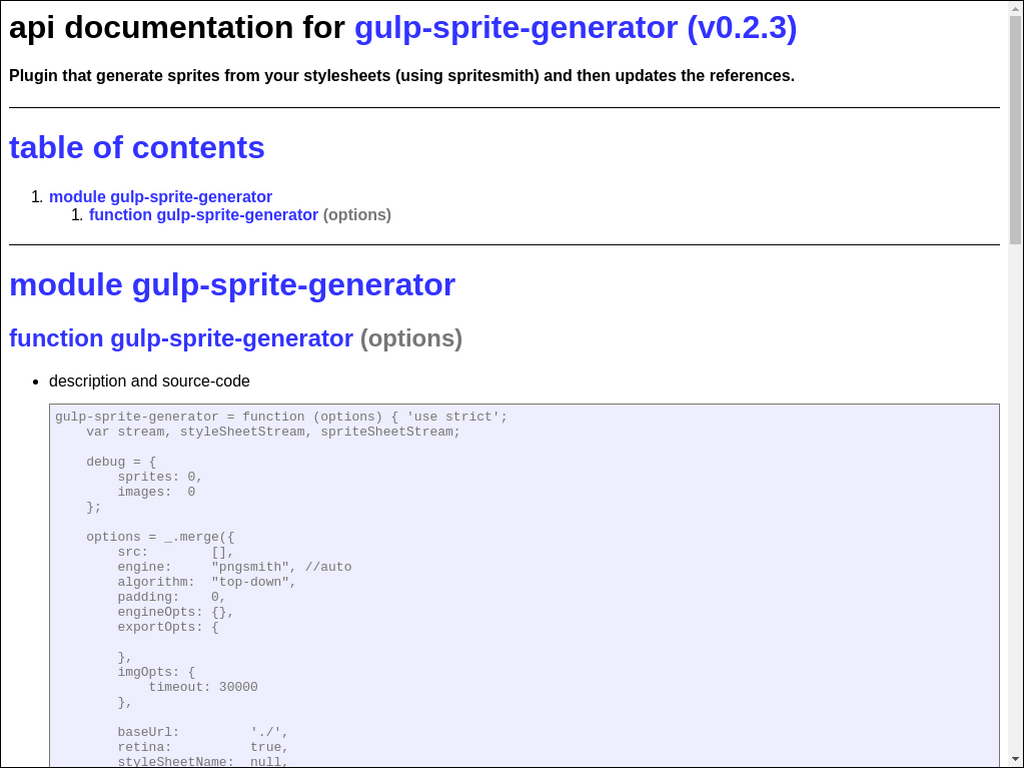 npmtest-gulp-sprite-generator 2017 4 26 on npm - Libraries io