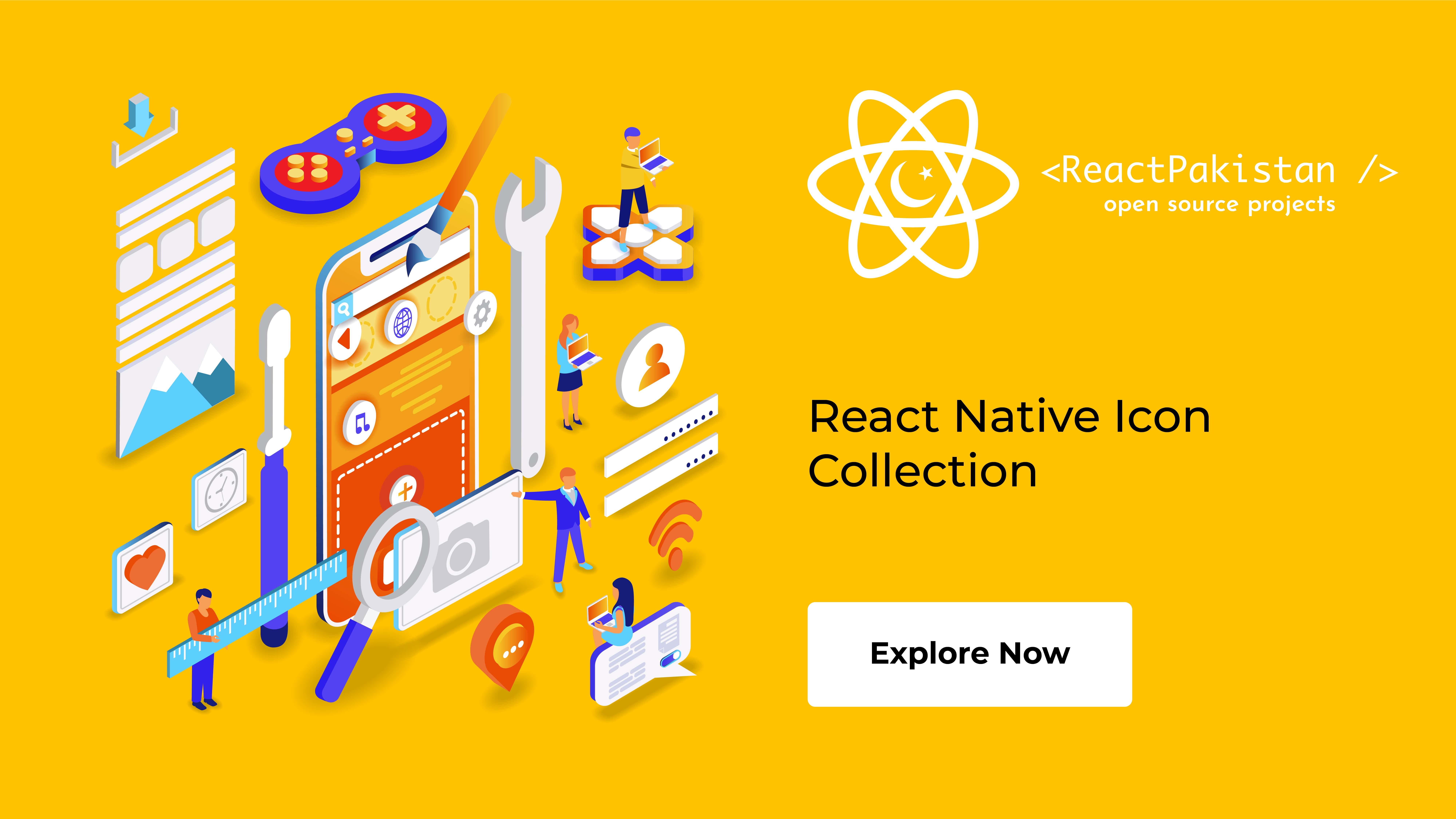 React Pakistan - React Native Icon Collection