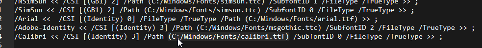 Debugging Font Isssues with Ghostscript · tsgrp/OpenAnnotate