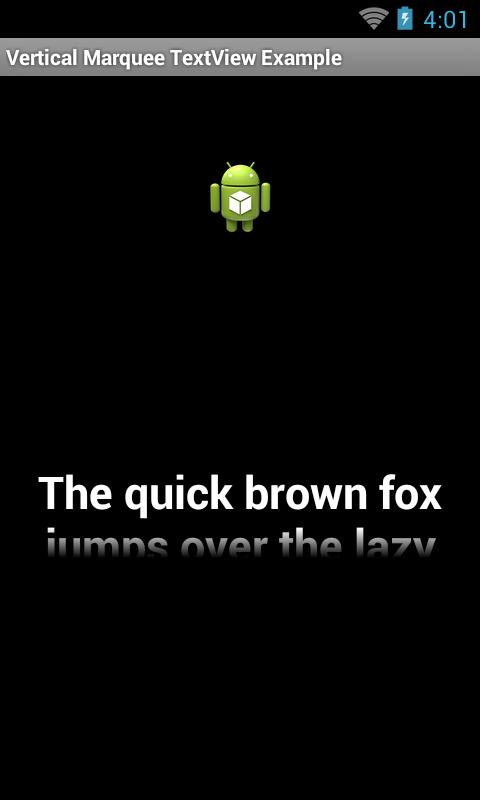 GitHub - ayltai/Android-Lib-VerticalMarqueeTextView: A custom