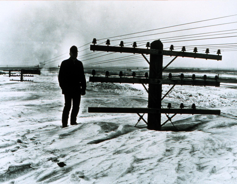 A blizzard