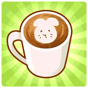 GochiUsa Foamy Latte Art