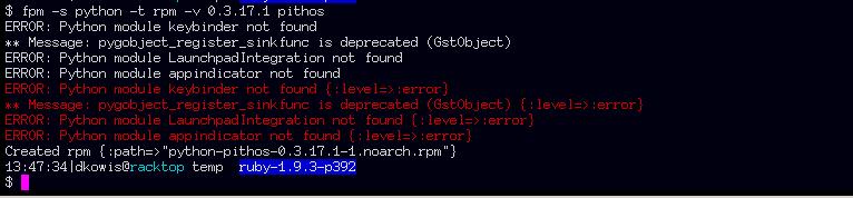 FPM Error