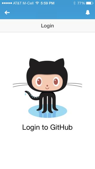 Login to GitHub