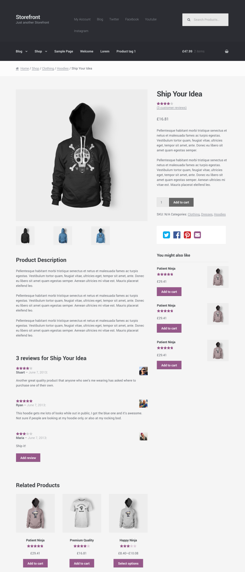 revise default single product page issue 373 woocommerce
