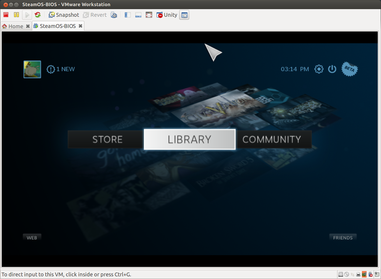 SteamOS on VMware