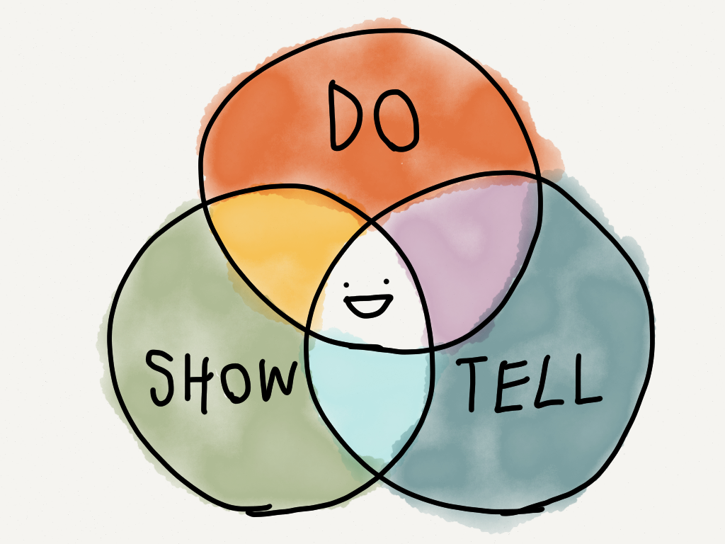 """""""Do and Show and Tell"""""""
