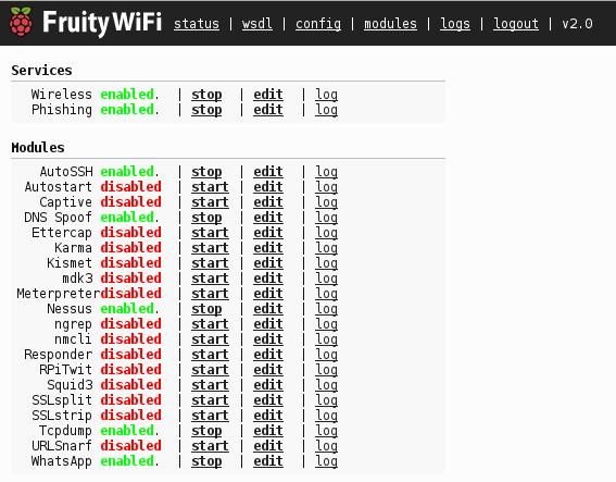 GitHub - xtr4nge/FruityWifi: FruityWiFi is a wireless