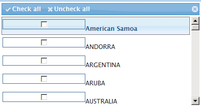 Width of the checkbox in a multiselect dropdown box  · Issue