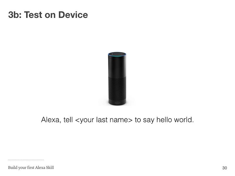 Step 3b: Test on Device