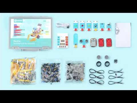 Vídeo: Revisión del Nezha Inventos's Kit para micro:bit de Elecfreaks