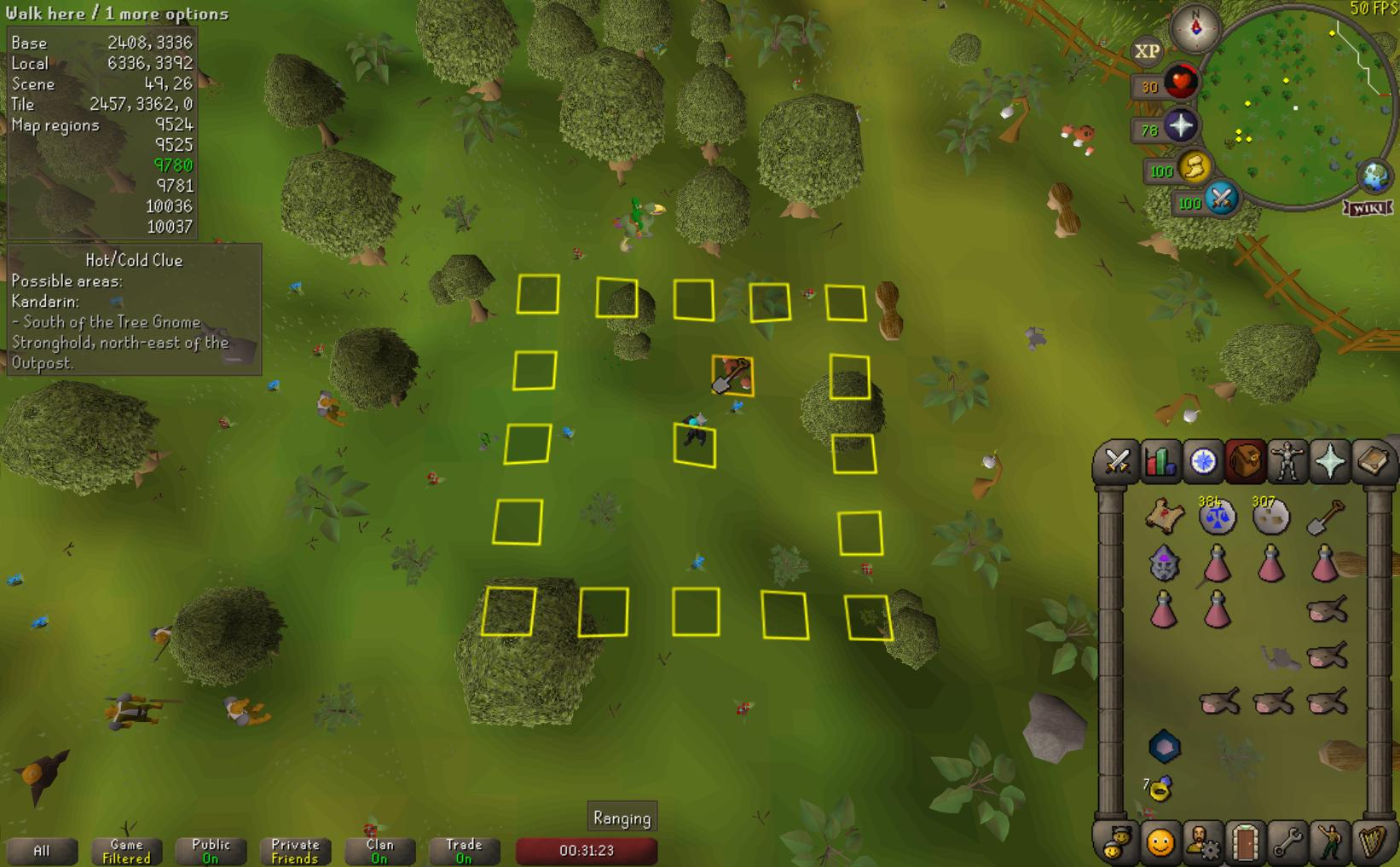 HotColdClues: mega issue for centering dig locations · Issue