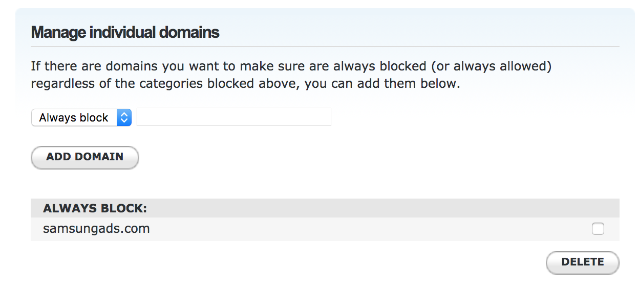 use opendns to block ads