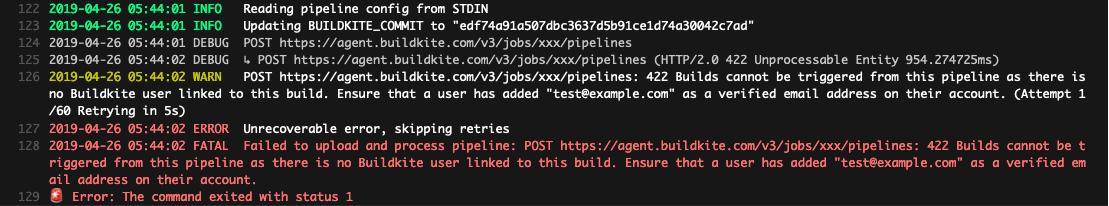 Buildkite Problem