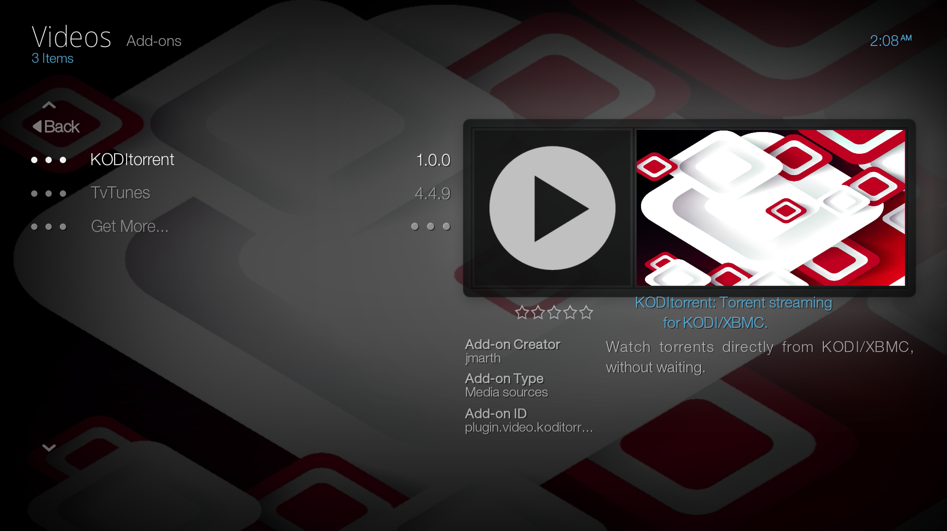 KMediaTorrent Screenshot1