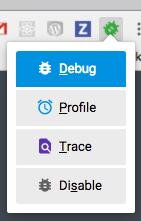 Enable Xdebug helper in Chrome
