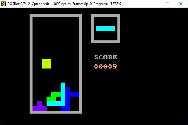 GitHub - Arkowski24/nasm-tetris: Simple Tetris game for DOS written