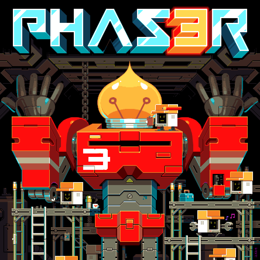 GitHub - photonstorm/phaser: Phaser is a fun, free and fast 2D game