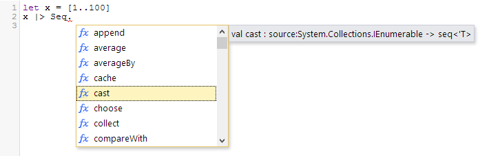 Intellisense Example #1