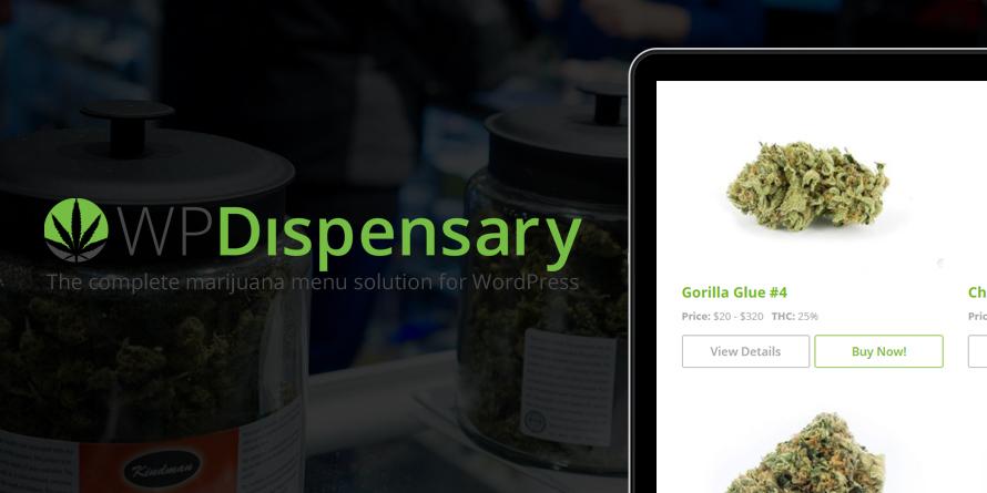 Cannabis Dispensary WordPress Plugin