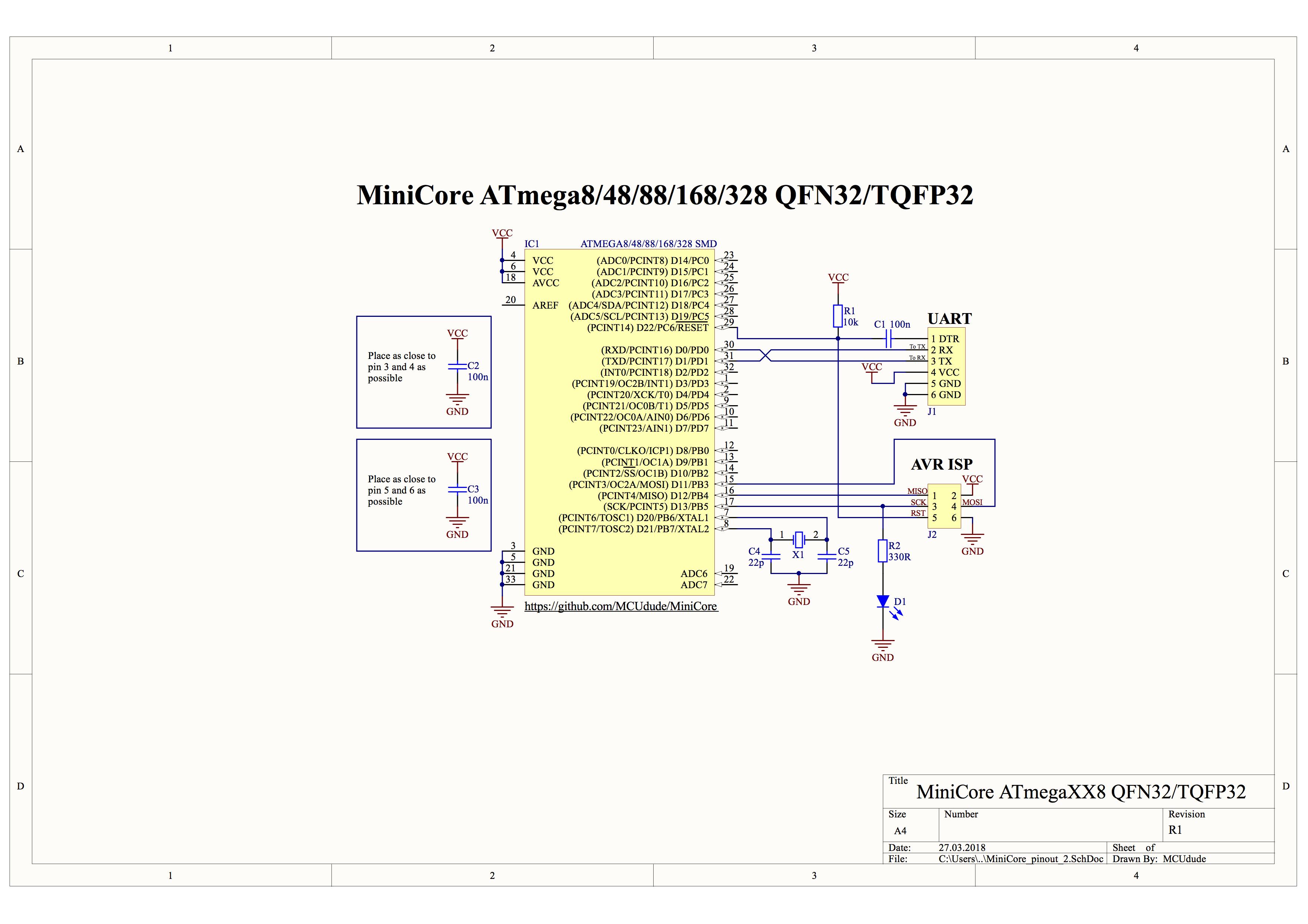 DIP-28 package ATmega8/48/88/168/328, TQFP-32 SMD package ATmega8/48/88/168/328,  TQFP-32 SMD package ATmega48/88/168/328PB