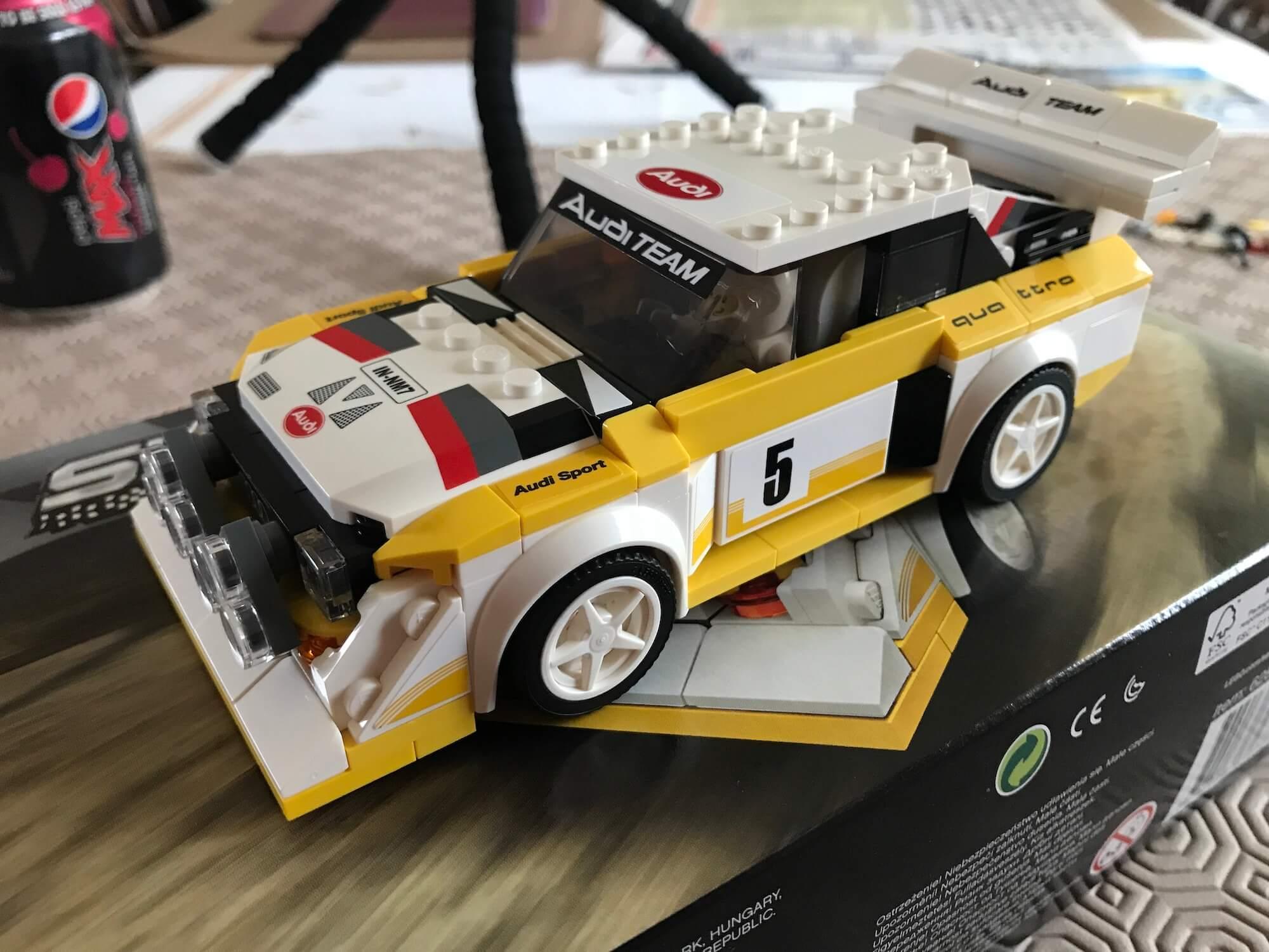 Lego Audi Quattro S1