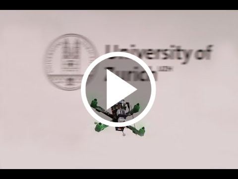 Differential Flatness of Quadrotor Dynamics Subject to Rotor Drag