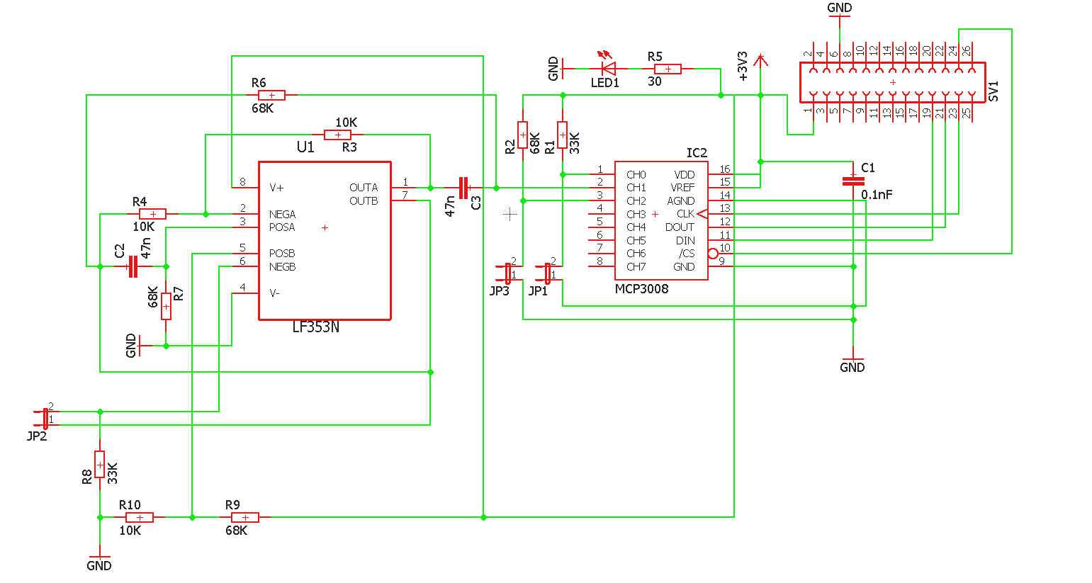 Hardware Raspberrypiteam5 Exercise Sensor Wiki Github Circuit Diagram Voltage Source As Seen By The Schematic 33v Output Was Used To Supply Any Components Which Require A Moisture And Temperature Were Both