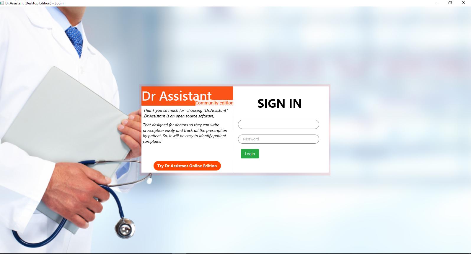 26da9ec640a GitHub - kmrifat Dr-Assistant  Prescription writing and patient ...